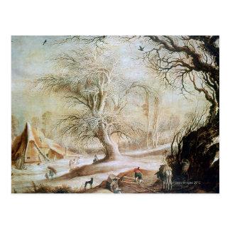 冬の景色 ポストカード