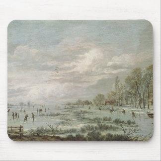 冬の景色 マウスパッド