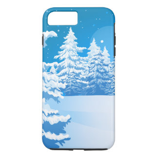 冬の景色 iPhone 8 PLUS/7 PLUSケース