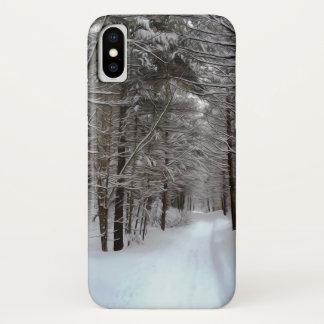 冬の景色 iPhone X ケース