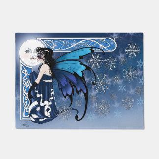 冬の月の妖精 ドアマット