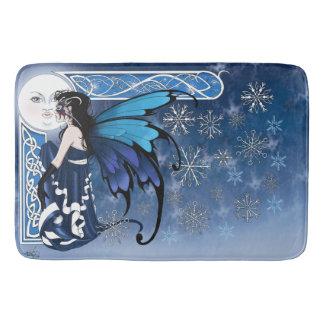 冬の月の妖精 バスマット