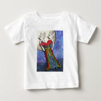 冬の服のティー ベビーTシャツ