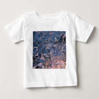 冬の朝フロスト ベビーTシャツ