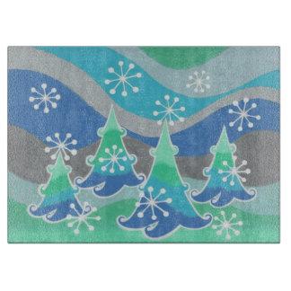 冬の木のまな板 カッティングボード