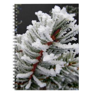 冬の木のノート ノートブック