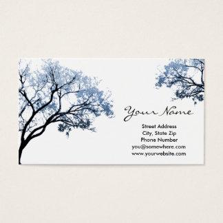 冬の木の名刺 名刺