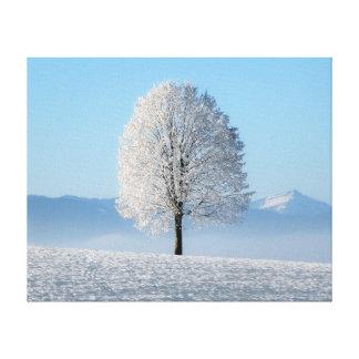 冬の木 キャンバスプリント