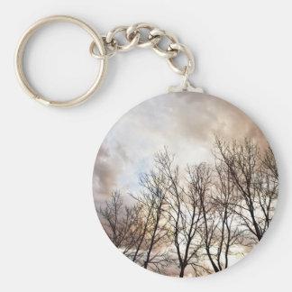 冬の木 キーホルダー