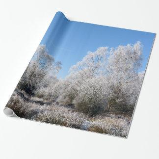 冬の木 ラッピングペーパー