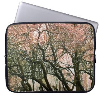 冬の木 ラップトップスリーブ