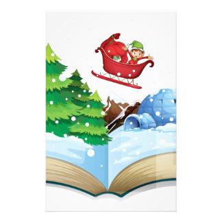 冬の本 便箋
