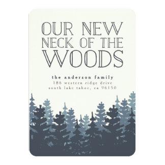 冬の森林移動発表 11.4 X 15.9 インビテーションカード