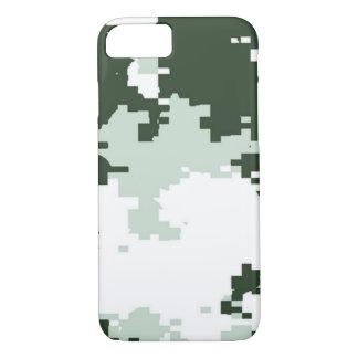 冬の森林迷彩柄 iPhone 7ケース