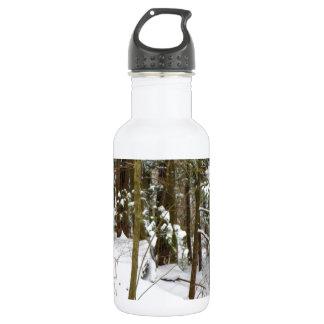 冬の森林 ウォーターボトル