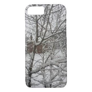 冬の森林 iPhone 8/7ケース