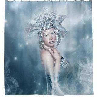 冬の精神のシャワー・カーテン シャワーカーテン