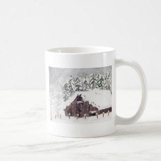 冬の納屋 コーヒーマグカップ