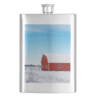 冬の納屋 フラスク