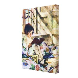 冬の絵本 キャンバスプリント