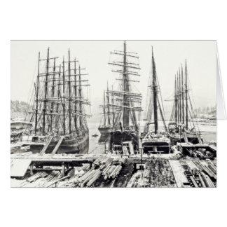 冬の船 カード