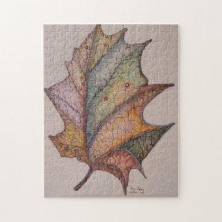 冬の葉 ジグソーパズル