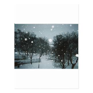 冬の薄片 ポストカード