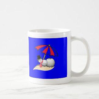 冬の融合のマグ コーヒーマグカップ