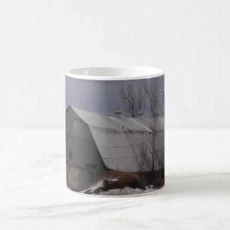冬の農地 コーヒーマグカップ