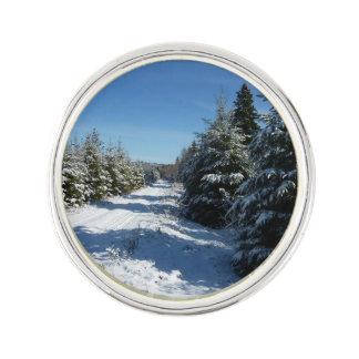 冬の道 ラペルピン