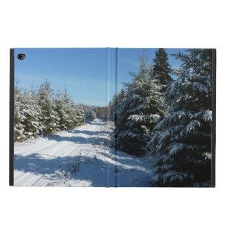 冬の道 POWIS iPad AIR 2 ケース
