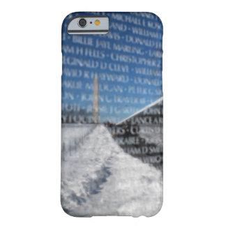 冬の間のベトナムの記念の壁 BARELY THERE iPhone 6 ケース