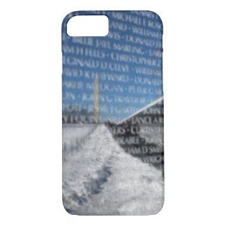 冬の間のベトナムの記念の壁 iPhone 8/7ケース