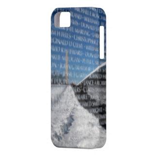 冬の間のベトナムの記念の壁 iPhone SE/5/5s ケース