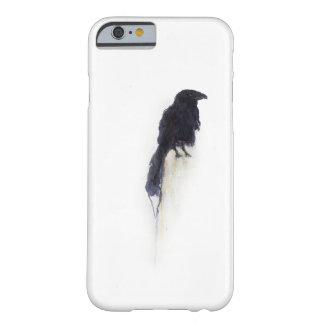 """冬の雪の""""証人""""の-ワタリガラス BARELY THERE iPhone 6 ケース"""