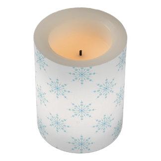 冬の雪片 LEDキャンドル