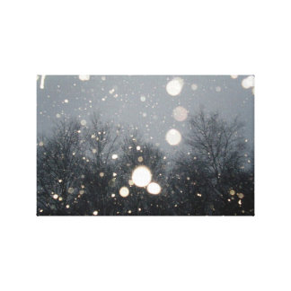 冬の雪 キャンバスプリント
