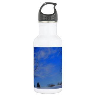 冬の青 ウォーターボトル