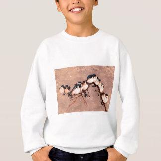 冬の鳥 スウェットシャツ