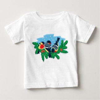 冬の鳥 ベビーTシャツ