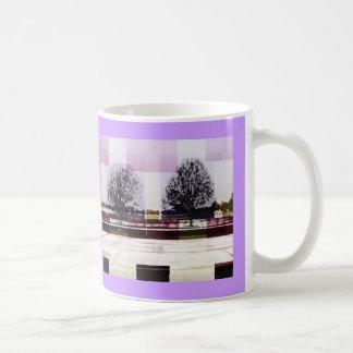冬の12月1月の木 コーヒーマグカップ