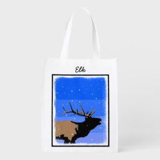 冬のBuglingのオオシカ エコバッグ