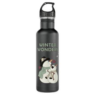 冬は疑問に思います(1つ) ウォーターボトル