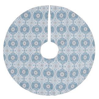 冬はOgeeパターン木のスカートを疑問に思います ブラッシュドポリエステルツリースカート