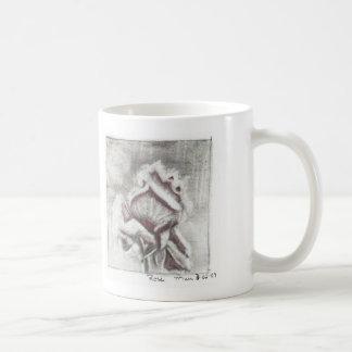 冬バラ コーヒーマグカップ