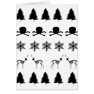 冬パターン カード