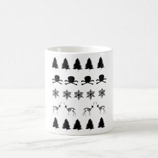 冬パターン コーヒーマグカップ