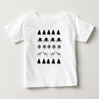 冬パターン ベビーTシャツ