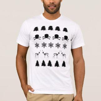 冬パターン Tシャツ