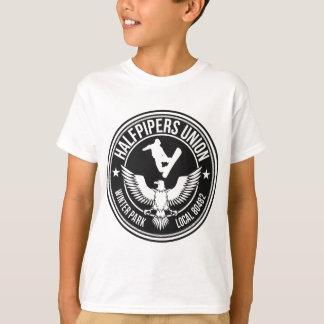 冬公園のHalfpipers連合 Tシャツ